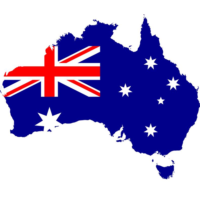 Australia(flagfill) - 800X800